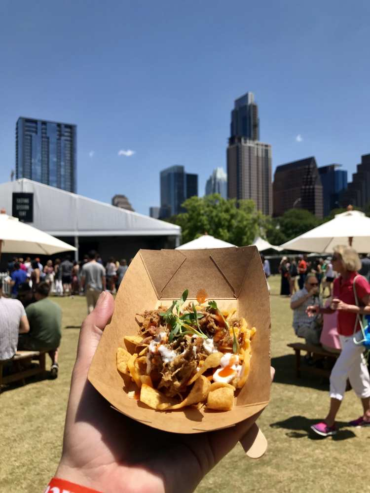 Austin Food and Wine Festival 2018 - frito pie