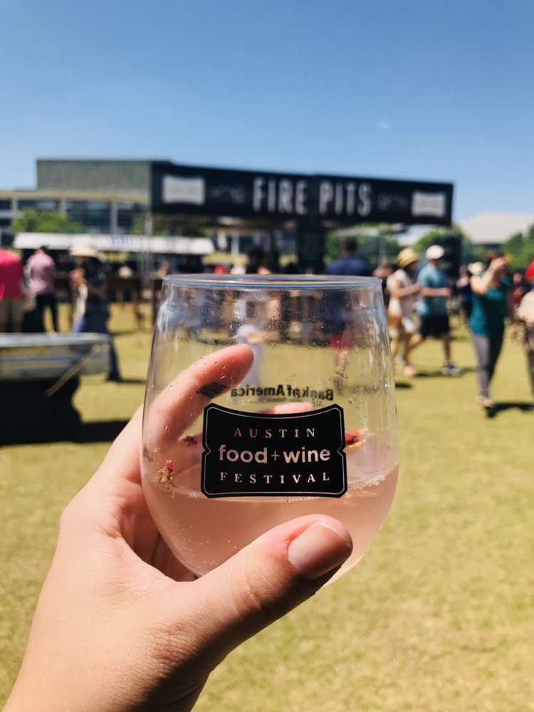 Austin Food and Wine Festival 2018 - rose