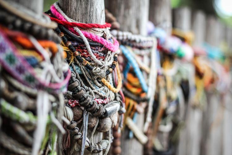 Cambodian Killing Field - Choeug Ek and S21 - bracelets