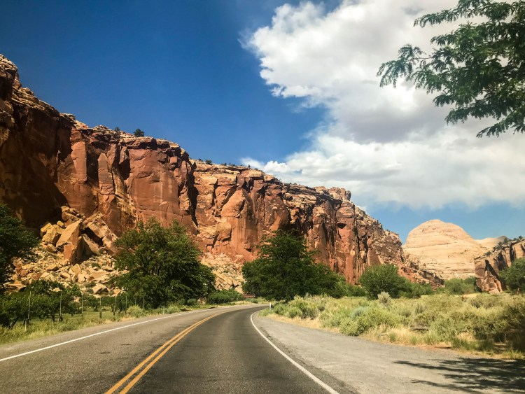 Capitol Reef along Scenic Byway 12