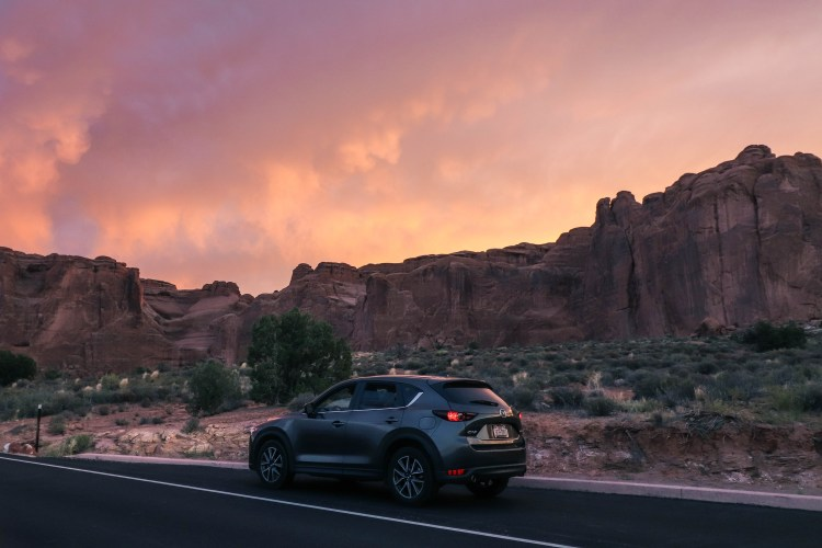 Sunset Photos from Visiting Arches National Park