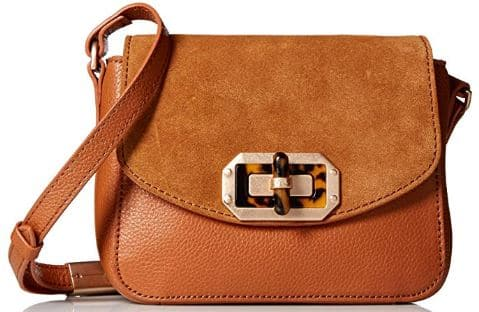 Foley + Corinna Whitney Crossbody, Honey Brown Suede | Best Purses for Fall on Amazon Prime