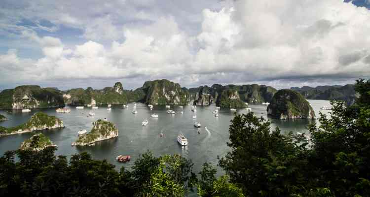 Halong Bay Panoramic photo
