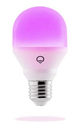 Mens gift guide: LIFX Mini (A19) Wi-Fi Smart LED Light Bulb