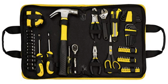 gifts for men E3L 69-piece Homeowner Tool Kit