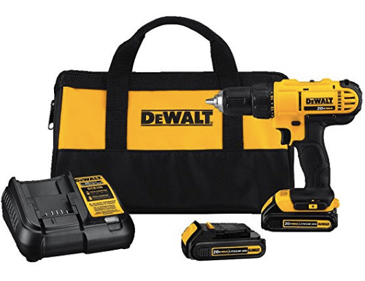 mens gift guide Dewalt Cordless Compact Drill Driver Kit