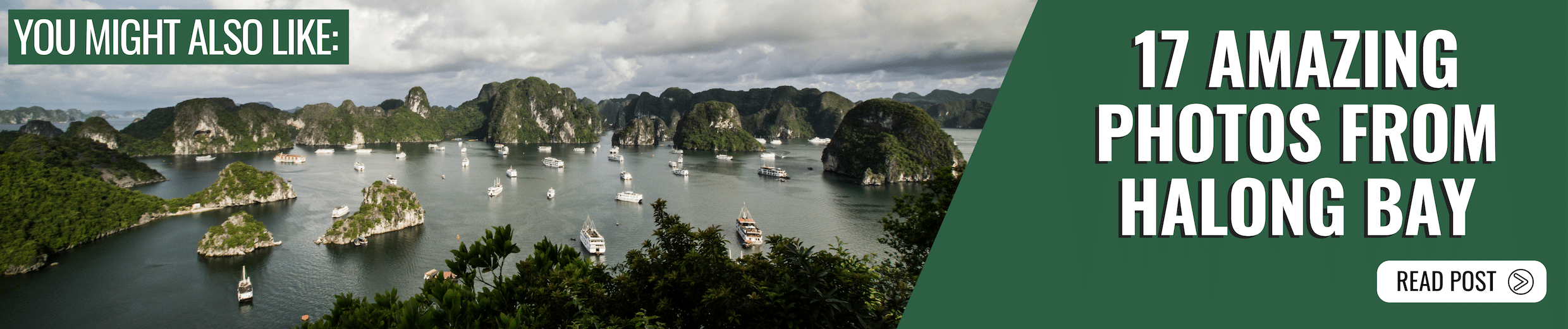 You might also like Ha Long Bay
