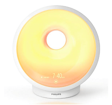gift ideas for women Philips Somneo Sleep and Wake-up Light Therapy Lamp