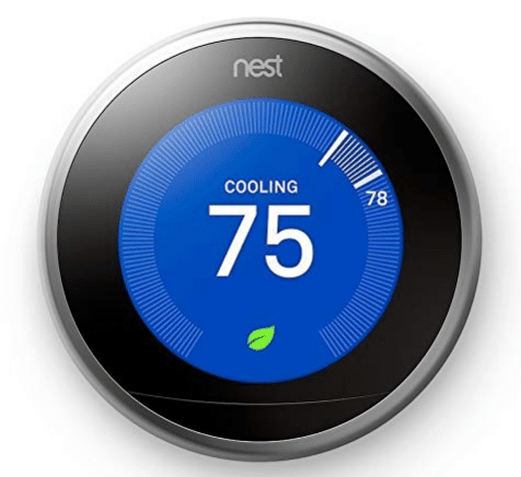 womens gift guide Nest Learning Thermostat