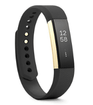 gift guide Fitbit Alta Fitness Tracker, Special Edition Gold