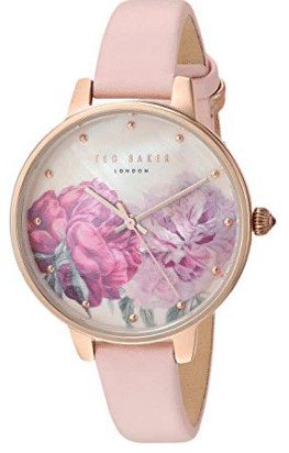 gifts for women Ted Baker Women's 'Kate' Quartz Stainless Steel and Leather Fashion Watch