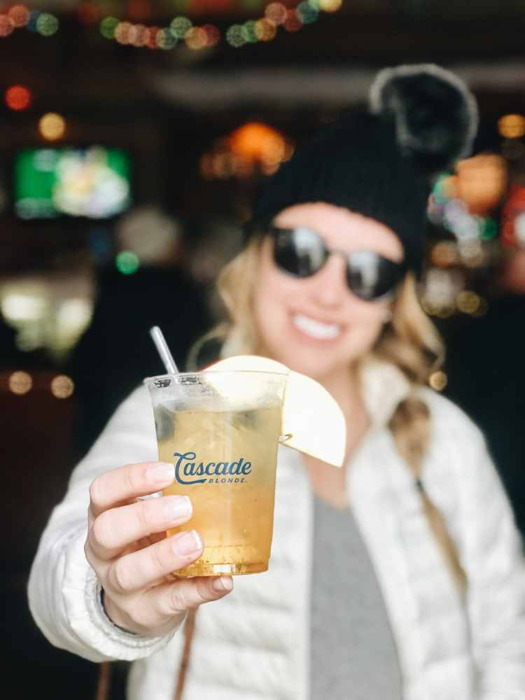 Winter Whiskey Drinks - Cascade Crisp