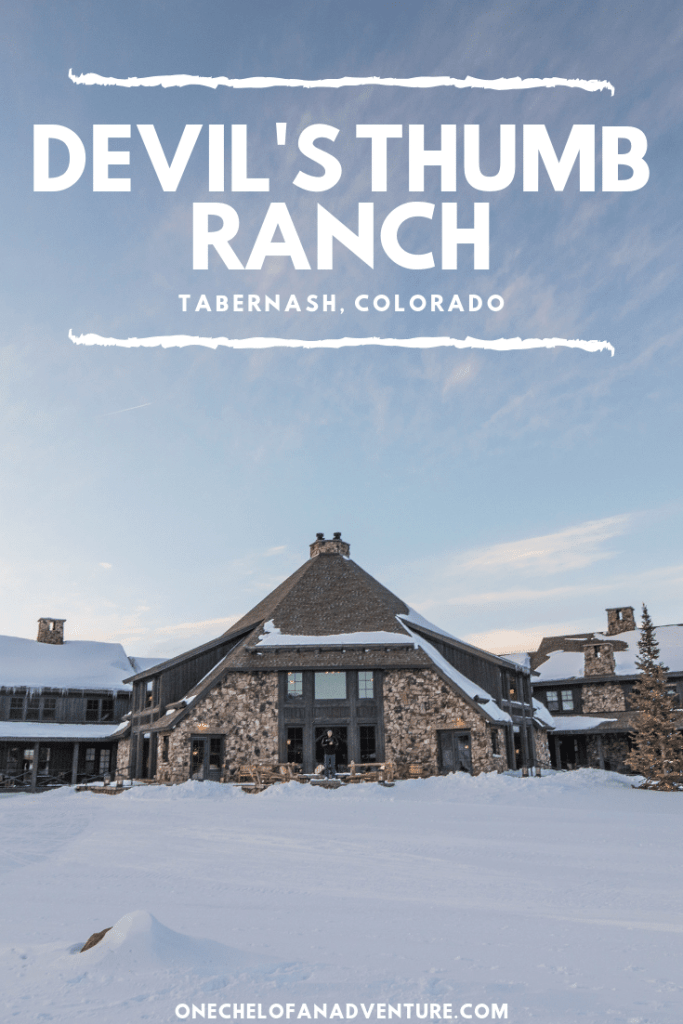 Staying at Devil's Thumb Ranch - #1 Cross Country Skiing Resort