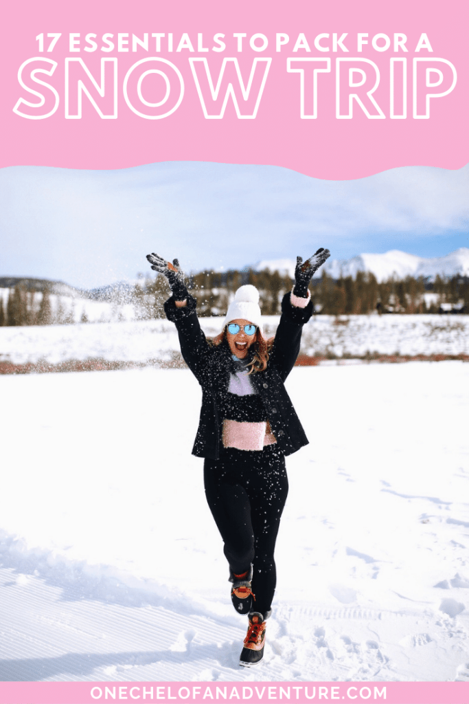 Everything You Should Pack for a Snow Trip