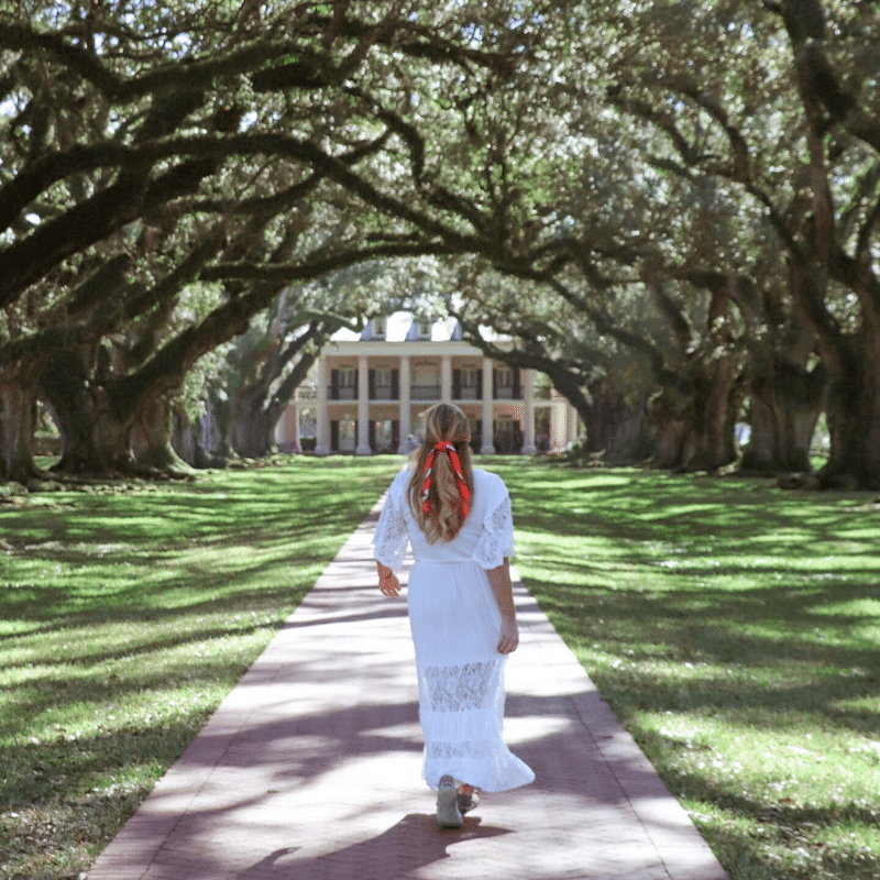 Onechelofanadventure destinations: Louisiana