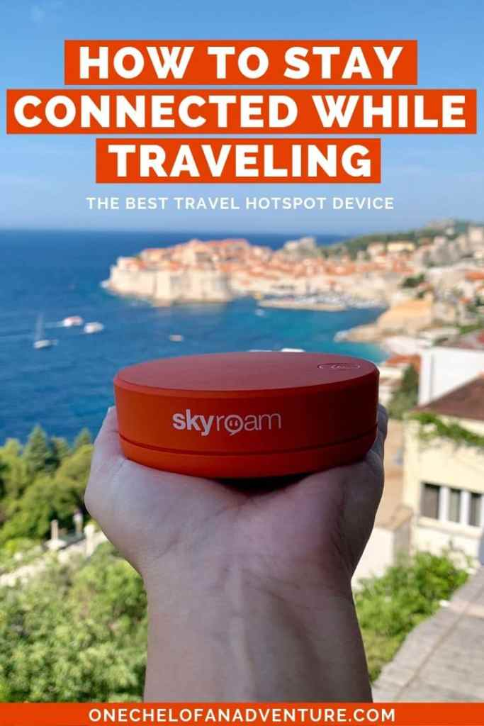 How to Stay Connected While Traveling - Must Have Wifi Hotspot