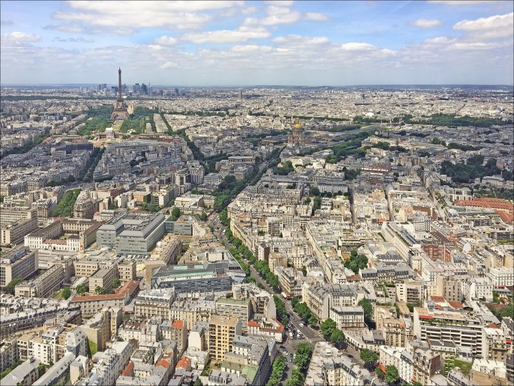 How to Have a Romantic Weekend in Paris - View from Montparnasse
