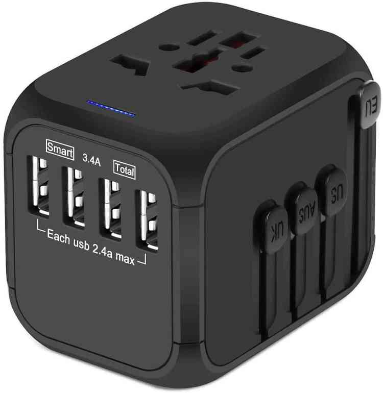 Fall Travel Must Haves: Universal Travel Adapter