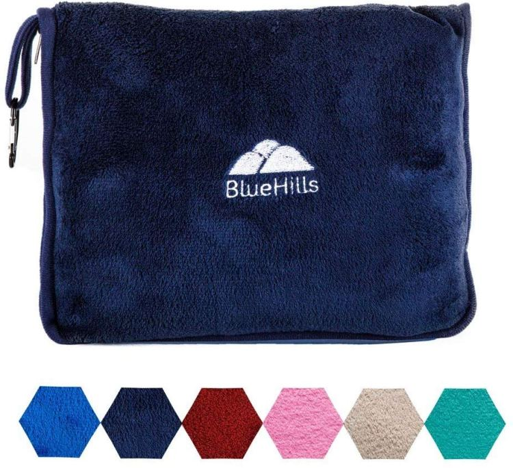 Fall Travel Must Haves: Travel Blanket w Case
