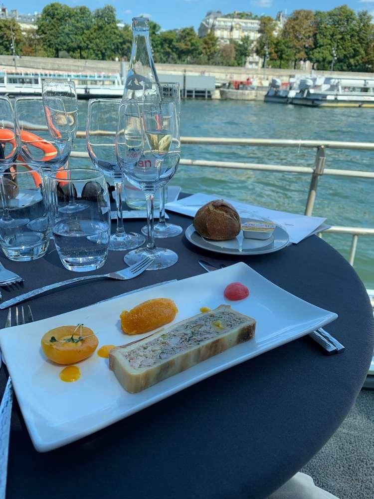 Bateaux River Lunch Cruise Paris Lunch Pate