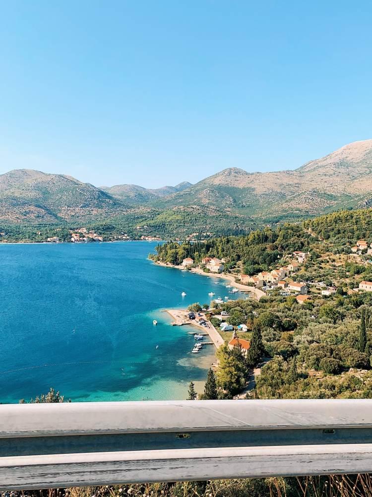 Drive to Dubrovnik, Croatia