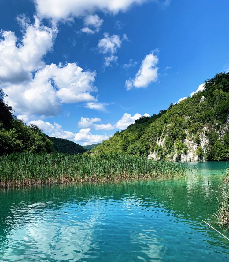 beautiful lakes in Croatia - plitvice lakes