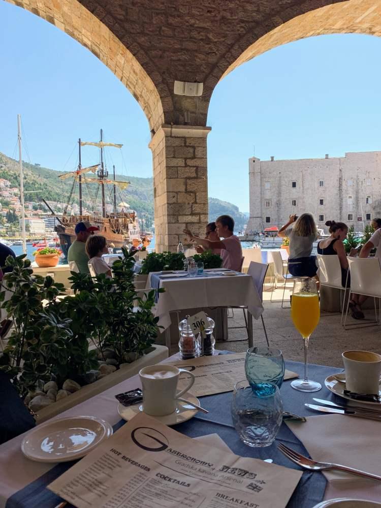 Arsenal Restaurant Dubrovnik