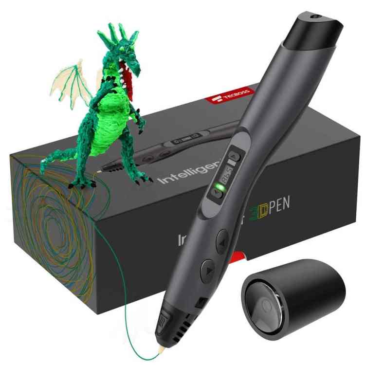 Unique Gift Ideas Under $50 - TECBOSS Intelligent 3D Printing Pen