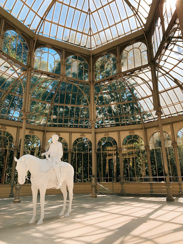 How to have an awesome Weekend in Madrid - Crystal Palace in Retiro park