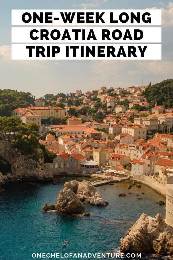 One Week Croatia Road Trip Itinerary