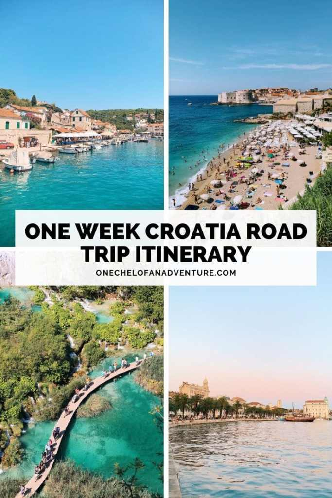 week croatia road trip