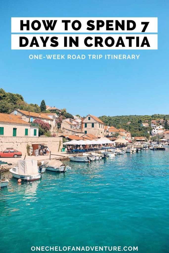 7 Day Croatia Road Trip