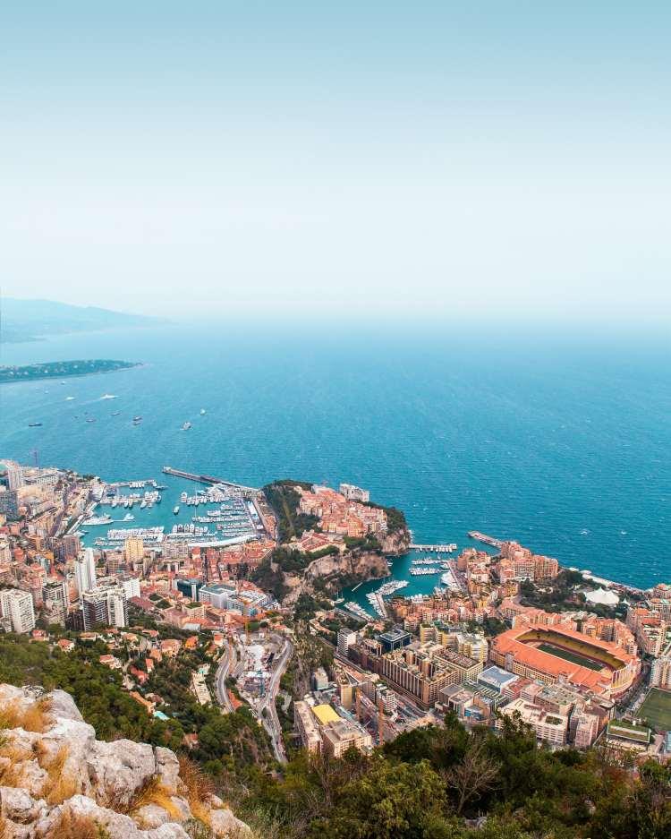 Monaco Travel Hashtags for Instagram