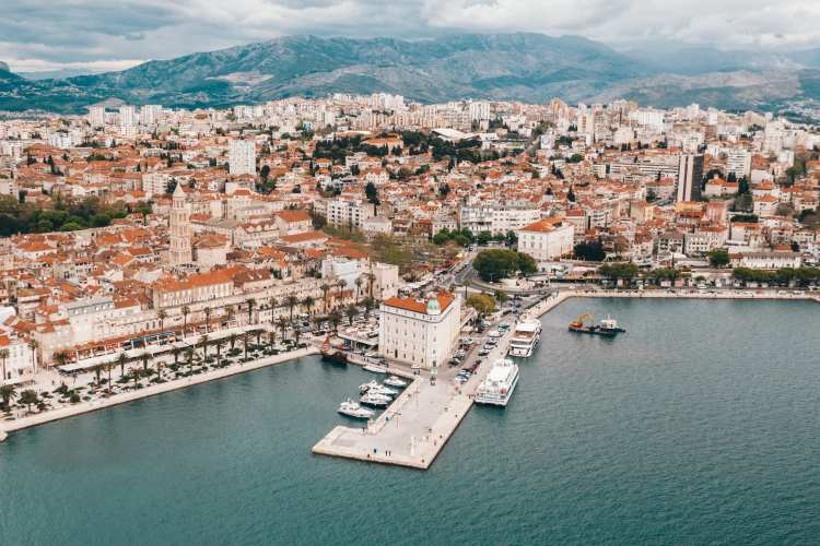 Best Split Croatia Hashtags for Instagram