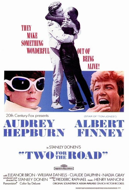 Movies with Travel in it - Two for the Road