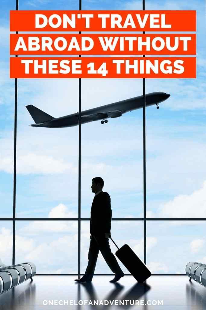 Check list - International Travel Essentials