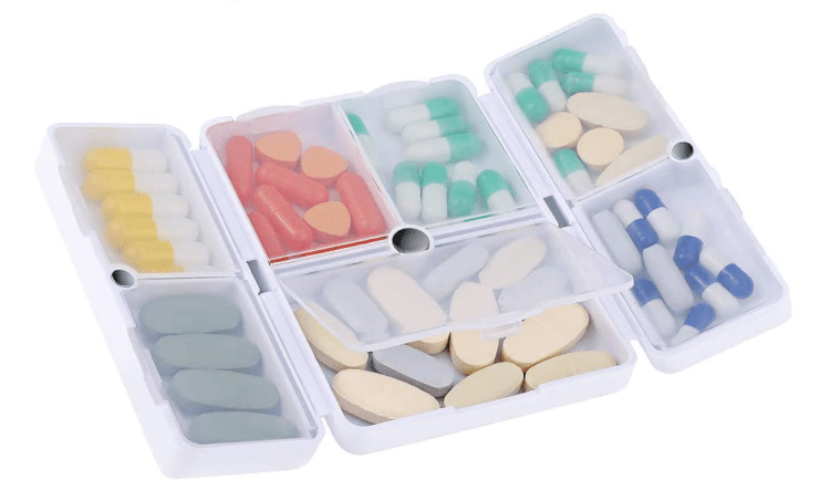 International Travel Essentials - medicine case
