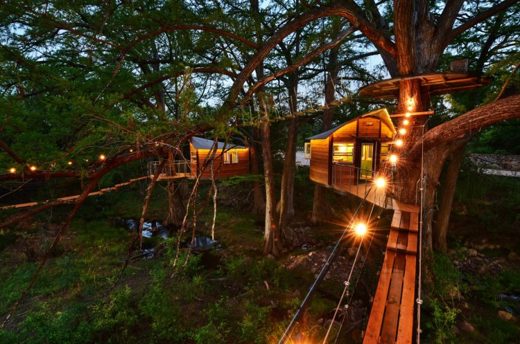 Cypress Treehouses Glamping