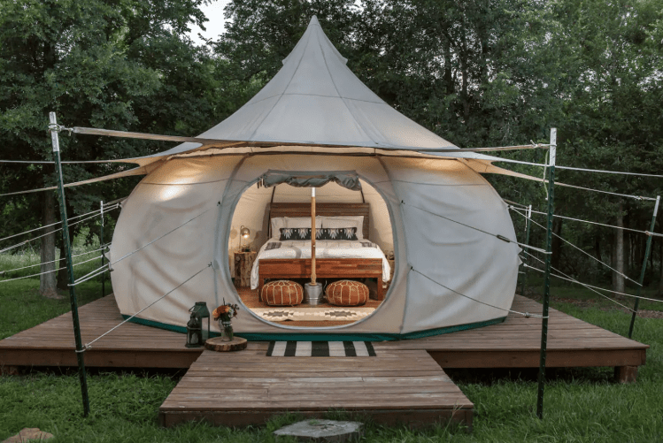 Glamping Near Austin - Green Acres