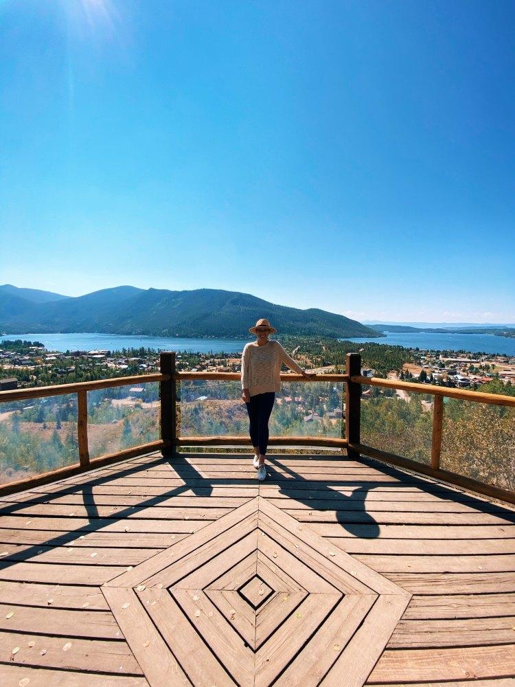 Viewing Deck at Grand Lake Lodge