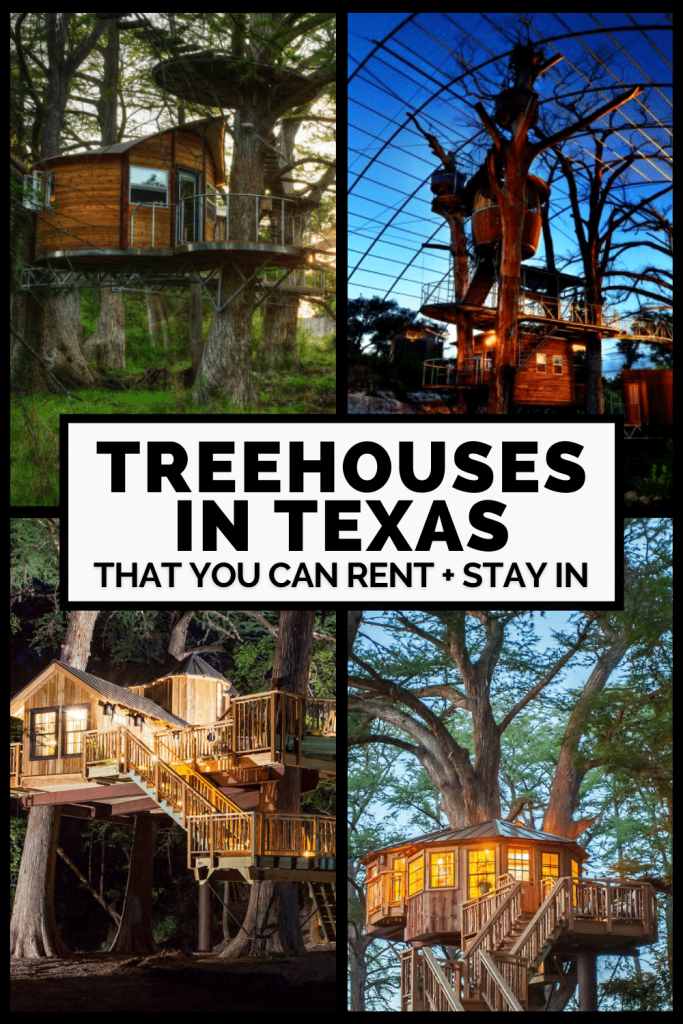 Best Treehouses for Rent in Texas