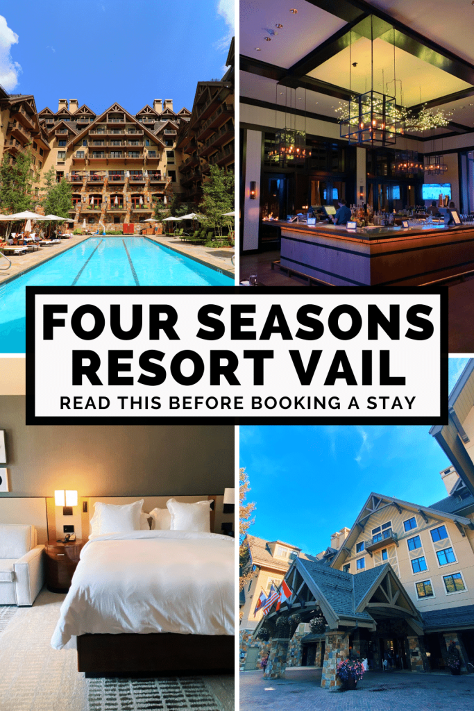 Booking Four Seasons Vail