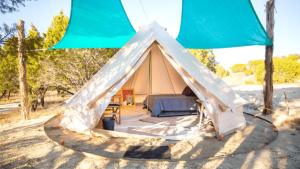 Glamping Near San Antonio Texas - Tents, Yurts, Tipis
