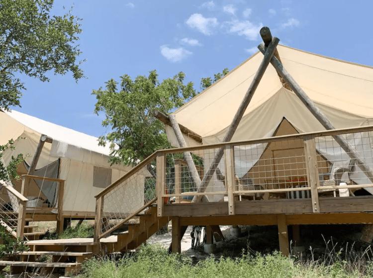 Surya Glamping Tents near SATX