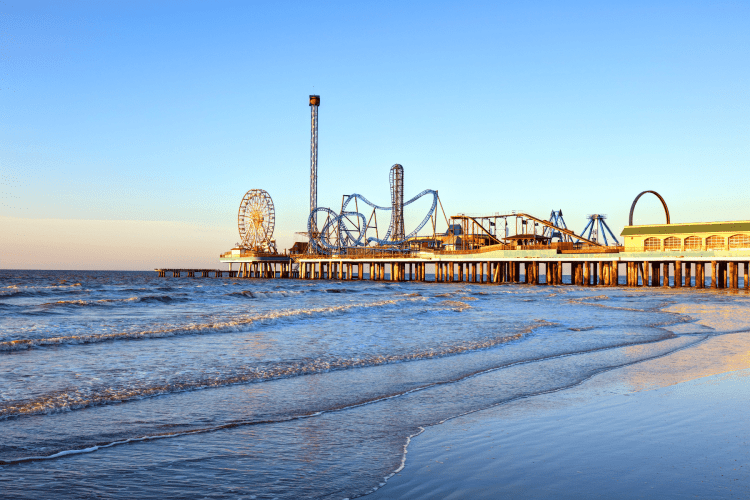 Visiting Galveston Texas in the Winter