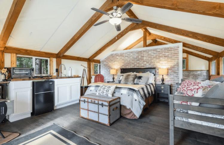 Luxury Safari Tent Bedroom