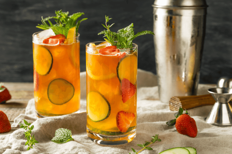 Cocktails From Around the World - UK Pimms Cup