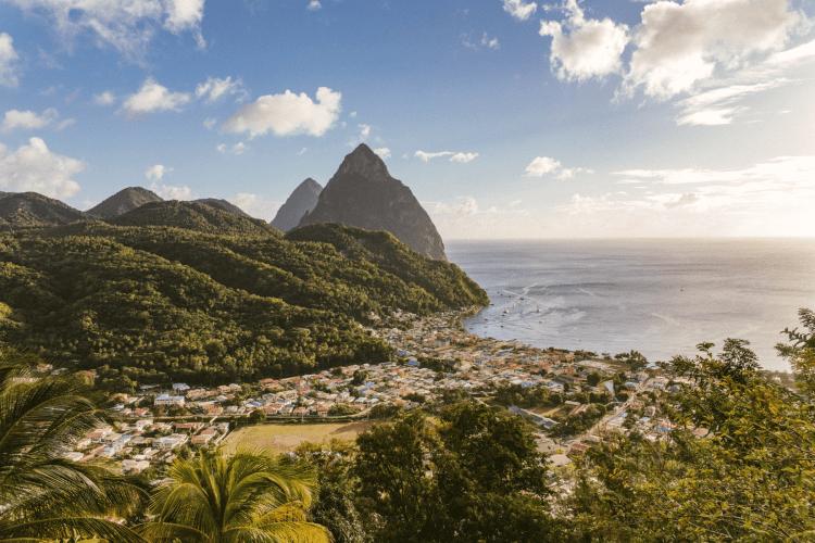 St Lucia Caribbean Island