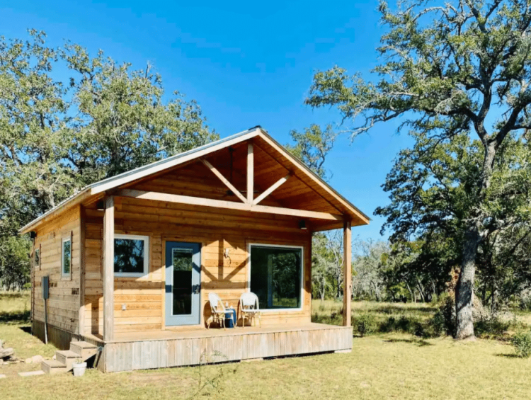 Texas Wine Country Cabin Rental