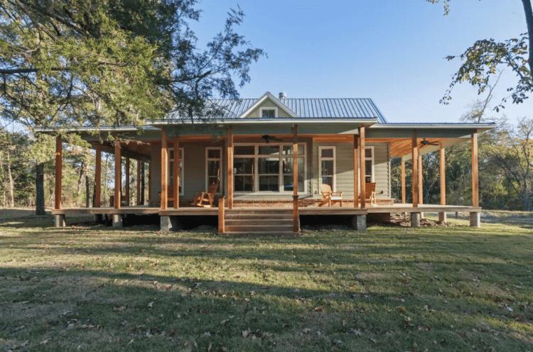 modern cabin rentals in texas